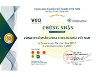 Top 100 Vietnam Sustainable Enterprise 2017