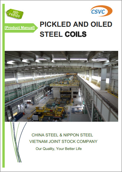 Pickled & Oiled Steel Coils
